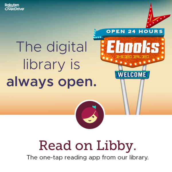 For digital books and audio, give Libby a try!