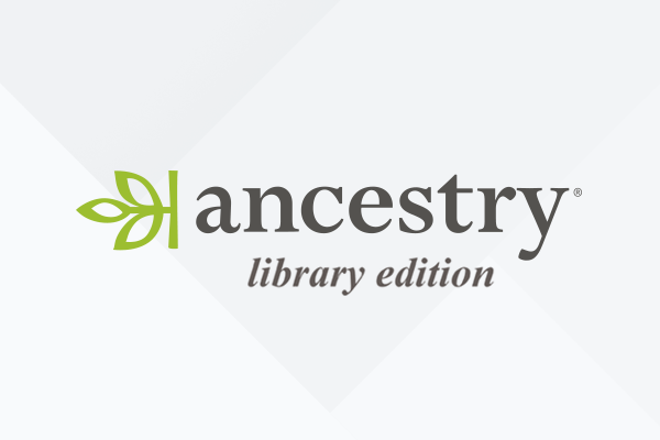 Ancestry access from home is now available through April 30, 2020.