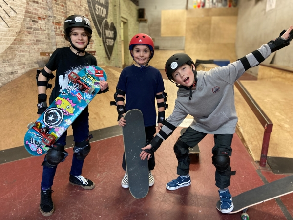 Skate the Foundry + Narberth Library!  Join us on Saturday, January 23!